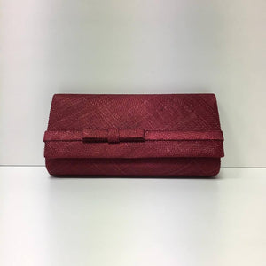 Small Clutch Bag - Burgandy