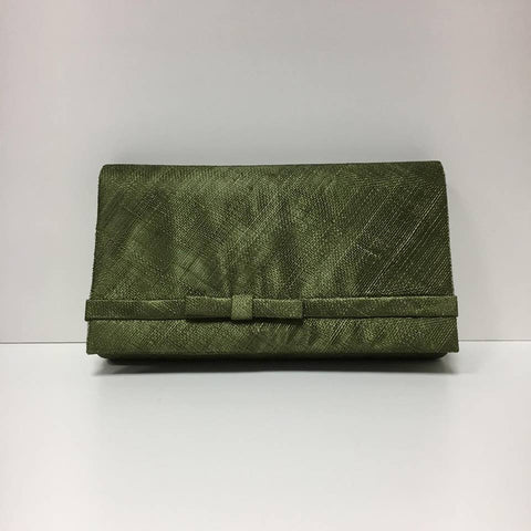 Large Clutch Bag - Dark Olive