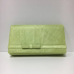 Large Clutch Bag - Flo Green