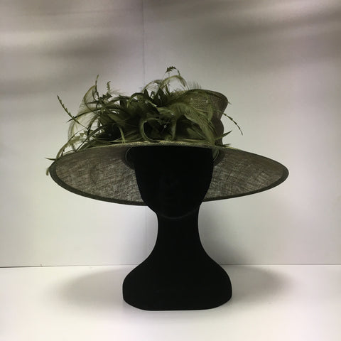 hat hire epsom, hat hire, cheap hat hire, hats, green hat