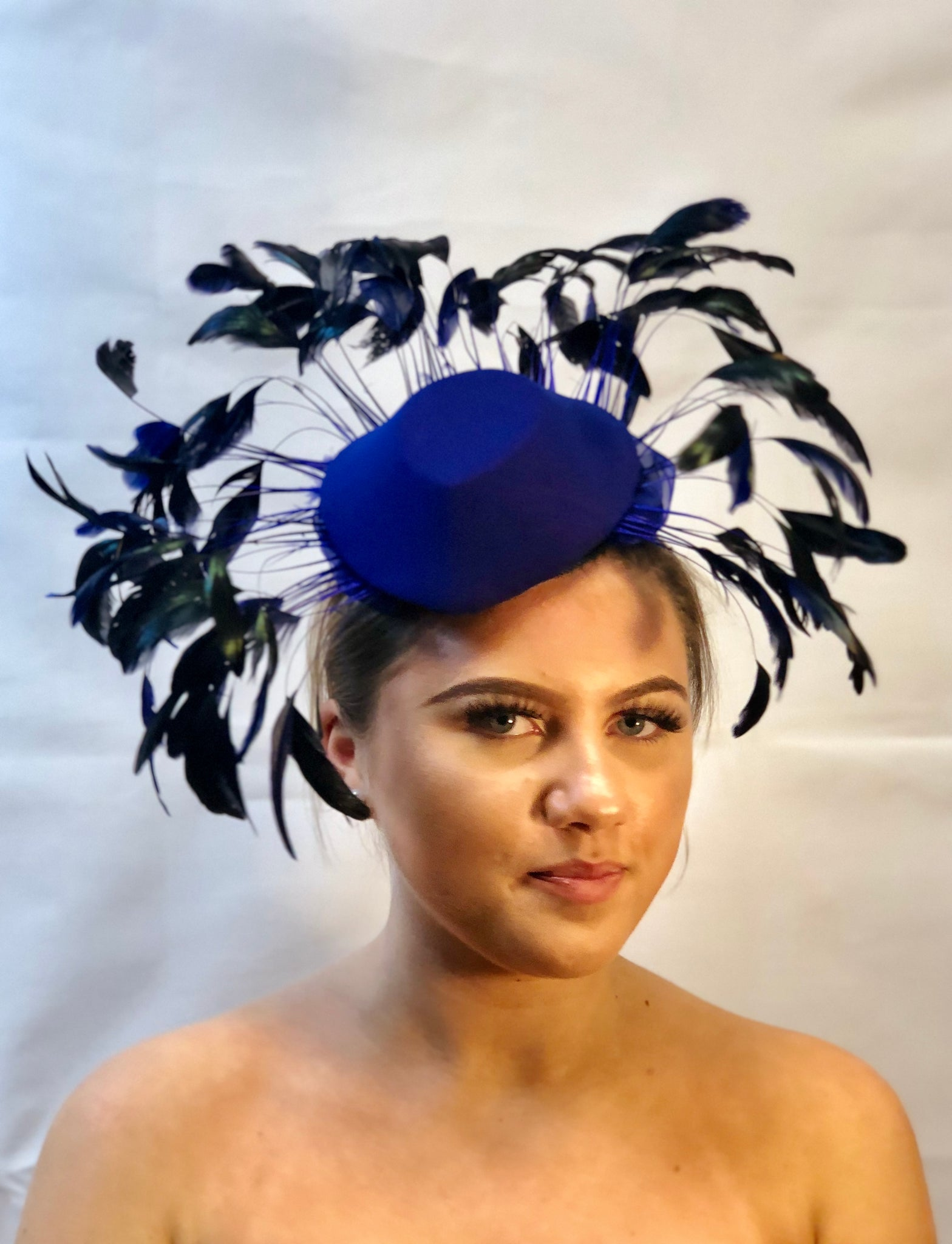 Wire Collection 2019 Black and Blue Feathers