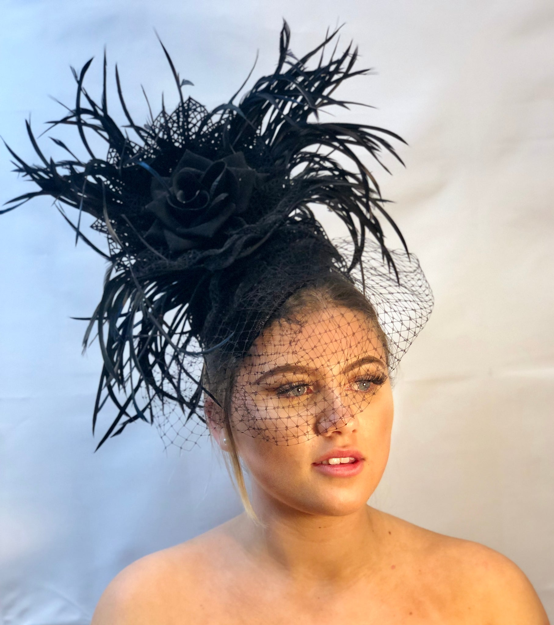 Black Label Lucy Headpiece
