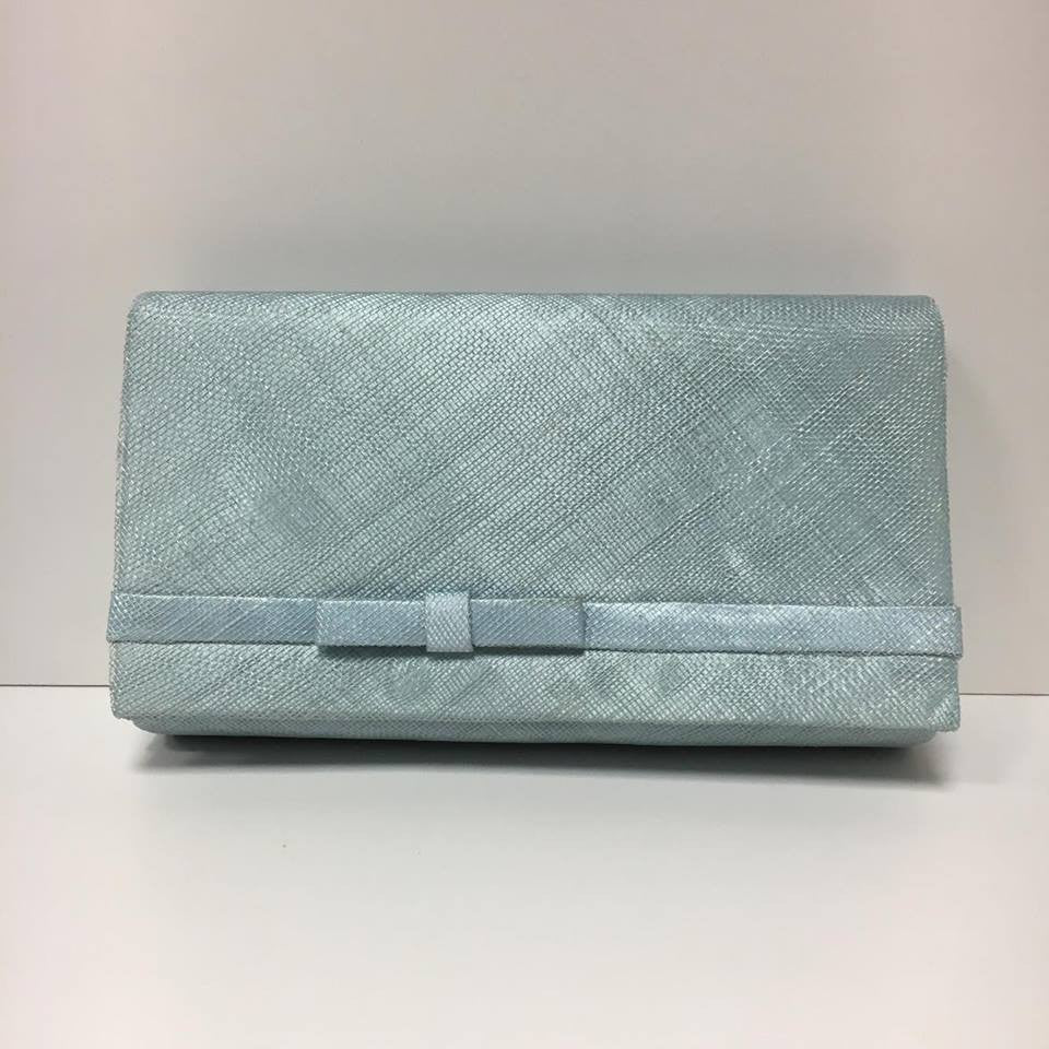 Large Clutch Bag - Ice Blue