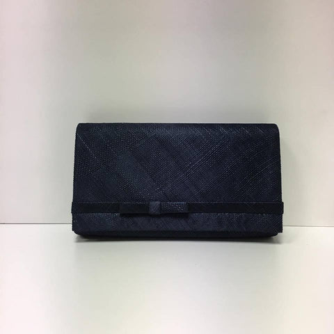Large Clutch Bag - Navy