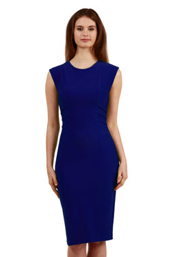 Diva Octavia Dress, BI Stretch, Cobalt Blue