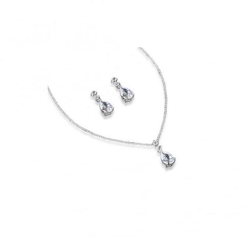 Park Lane Cubic Zirconia Stone Necklace and Earings Set