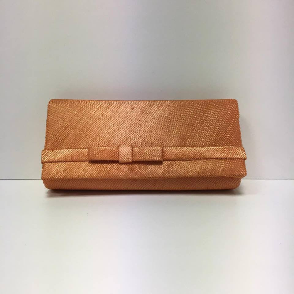 Small Clutch Bag - Tangerine
