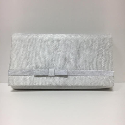 Large Clutch Bag - White