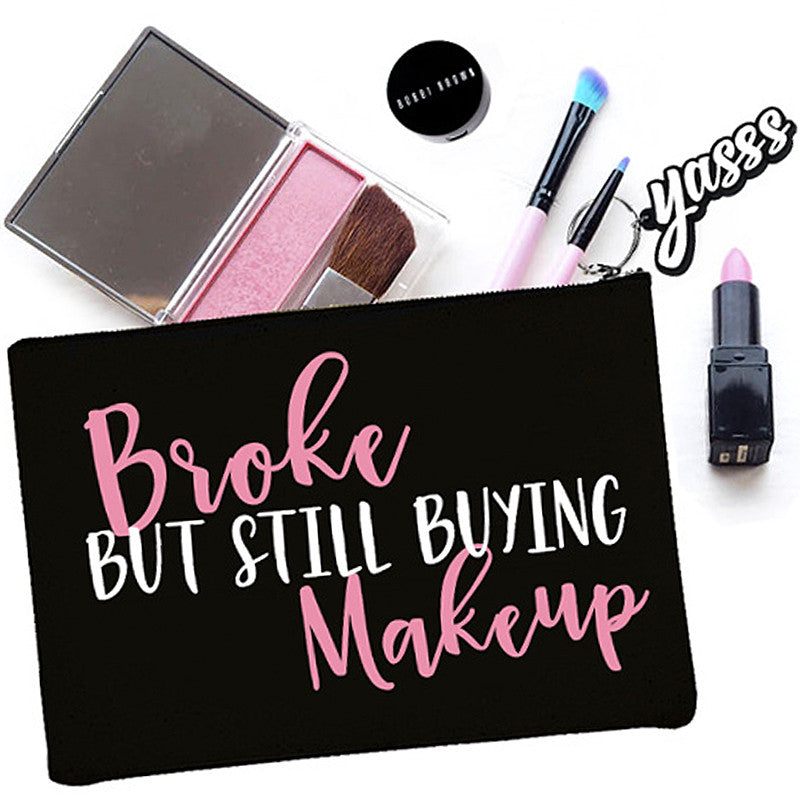 Broke But Still Buying Makeup Bag