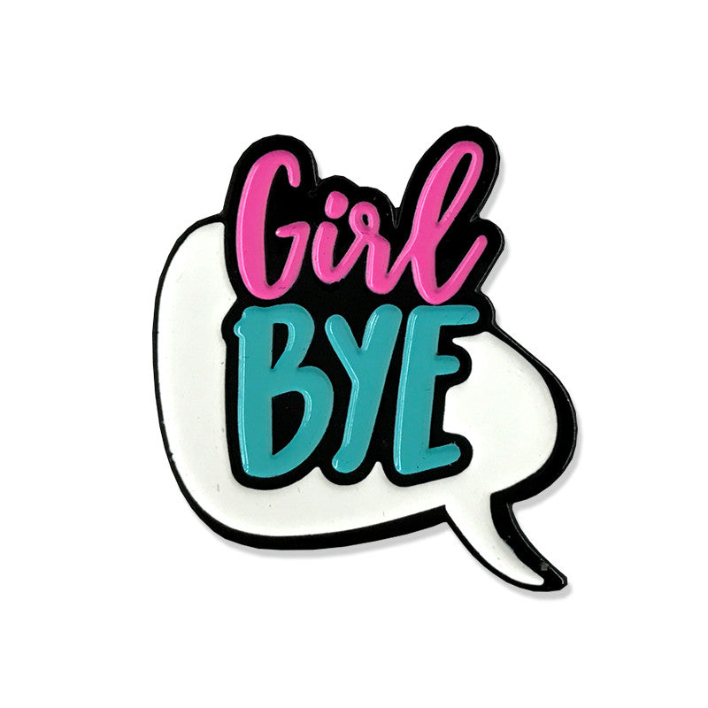 Girl Bye Pin