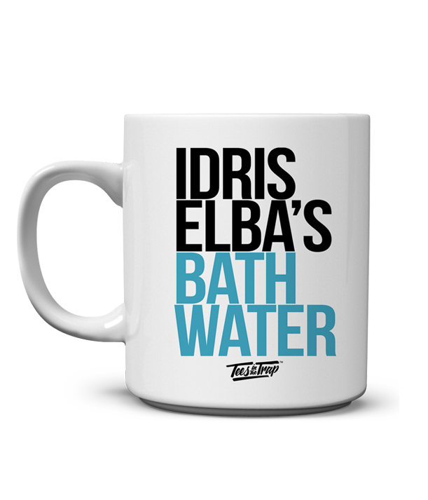 Idris Elba's Bath Water Mug