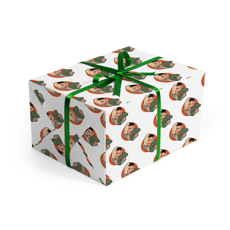 Joanne the Scammer Wrapping Paper