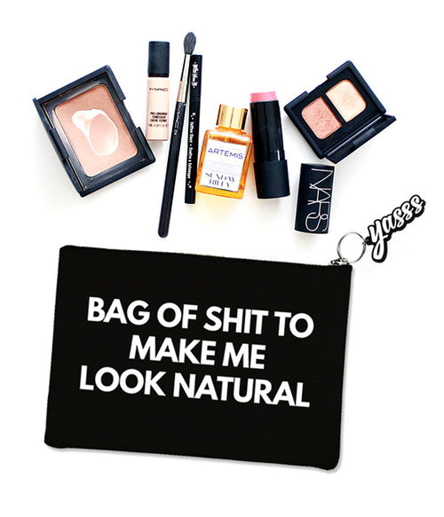 Look Natural Makeup Bag