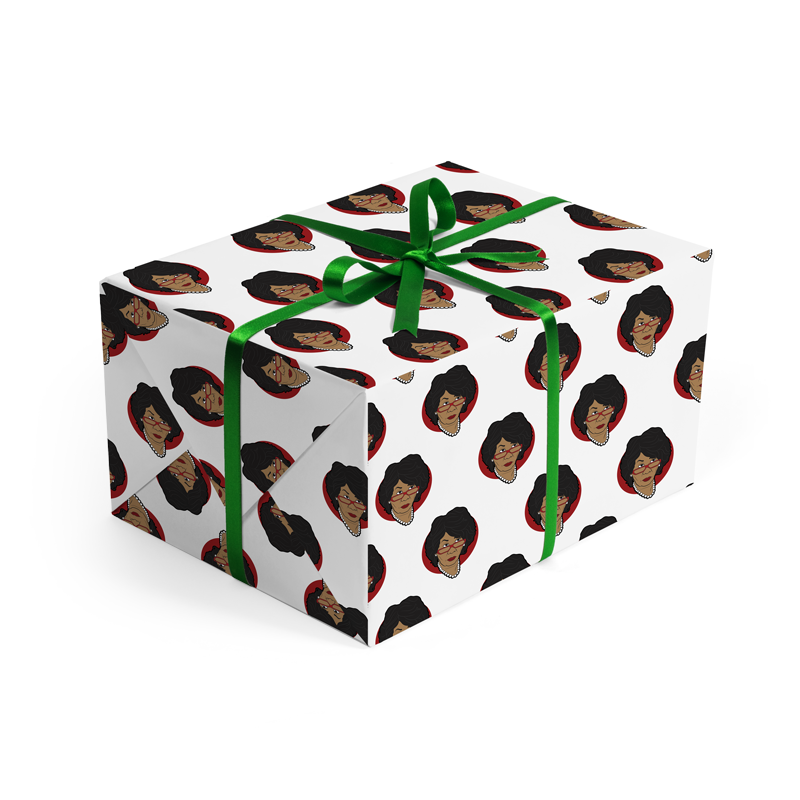Maxine Waters Wrapping Paper