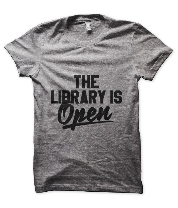 The Library is Open