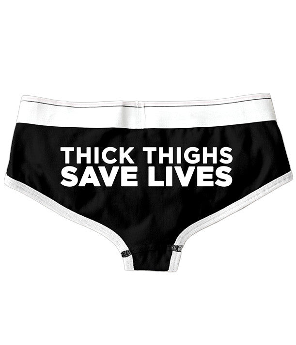 Thick Thighs Save Lives Boy Brief