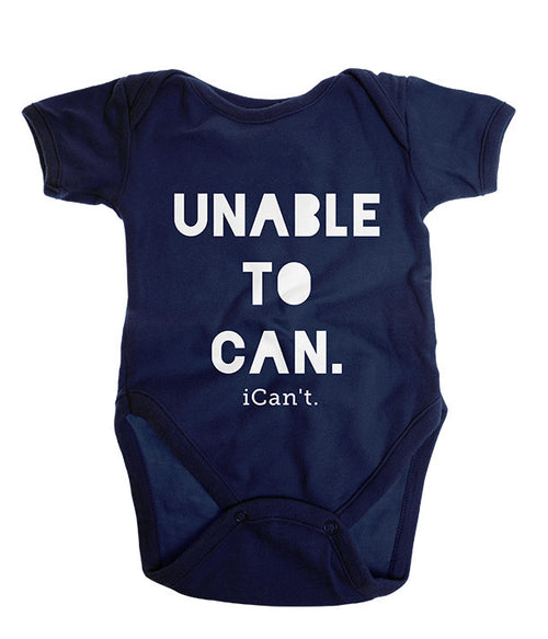 Unable to Can. iCan't. Onesie