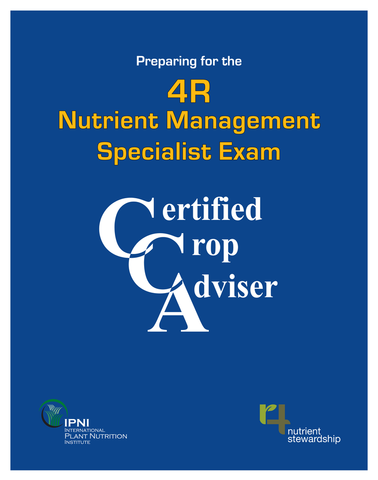 4R CCA Nutrient Management Specialist Study Guide
