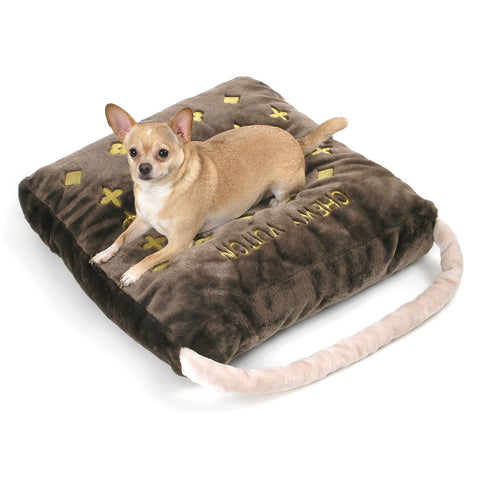 Classic Chewy Vuiton Bed