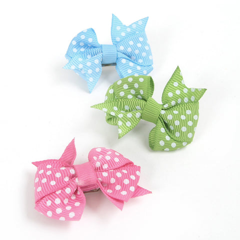 Dotty Bow Barrette