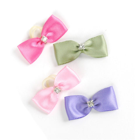 Satin Jewel Bow