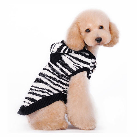 Zebra Shimmer Sweater