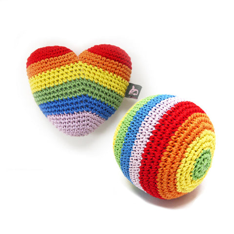 Over The Rainbow Woven Toys