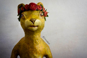 Princes the Panther, art sculpture