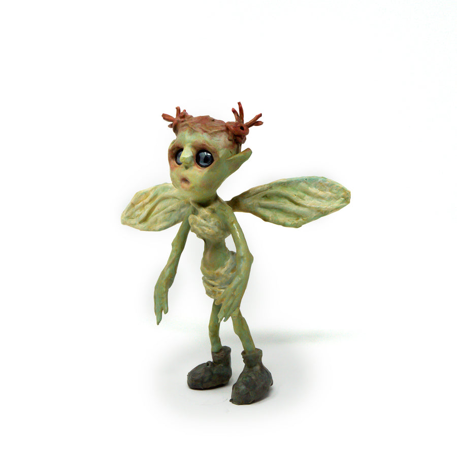Apple, the Army Boot Wearing Fairy Sculpture
