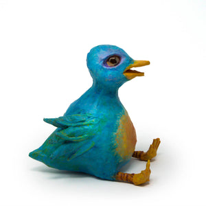 Beatrice the Bluebird of Happiness Sculpture