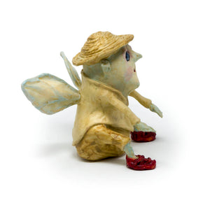 Hazel the Redshoe Fairy Sculpture