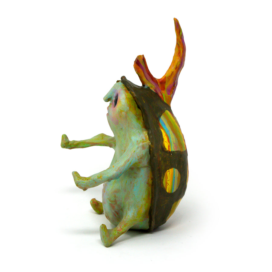Hornebolt the Beetle Bug Sculpture