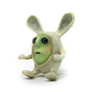 Mo Peeps is an original, one-of-a-kind, hand-sculpted & painted, rabbit