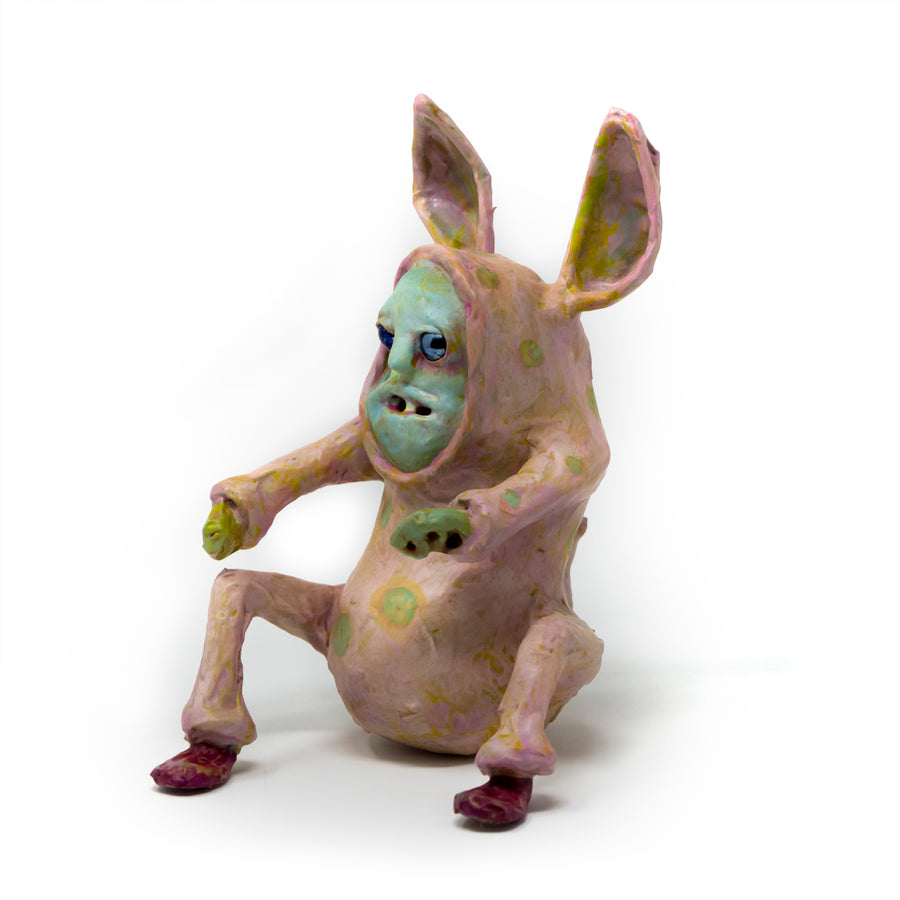 sebastian the bunny onsie character sculpture