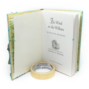 The Wind in the Willows Sculpted Altered Book