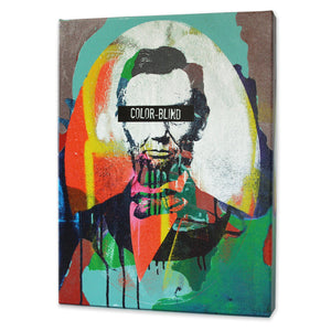 Color-Blind Lincoln Print - Matthew Lew Art Print