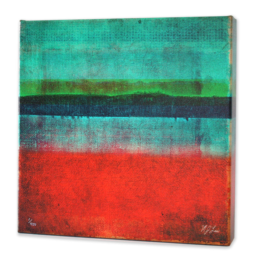 Square Abstract Five Print - Matthew Lew Art Print