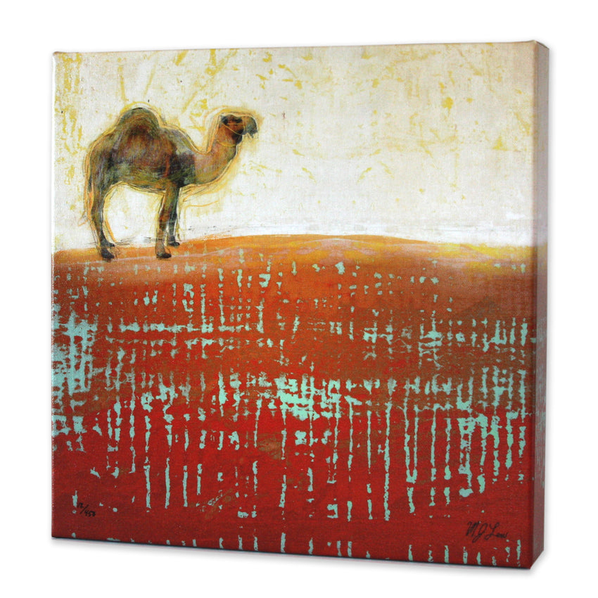 Safari Animal Camel Print - Matthew Lew Art Print
