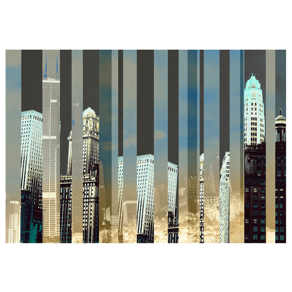 Chicago: City of Silver Print - Matthew Lew Art Print