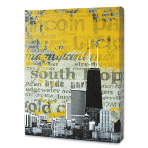 Chicago Horizon Print - Matthew Lew Art Print