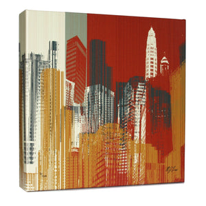 Chicago Urban I Print - Matthew Lew Art Print