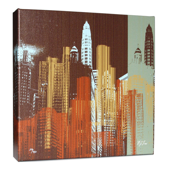 Chicago Urban III Print - Matthew Lew Art Print