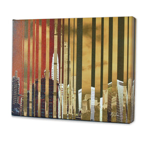 Chicago: City of Gold Print - Matthew Lew Art Print