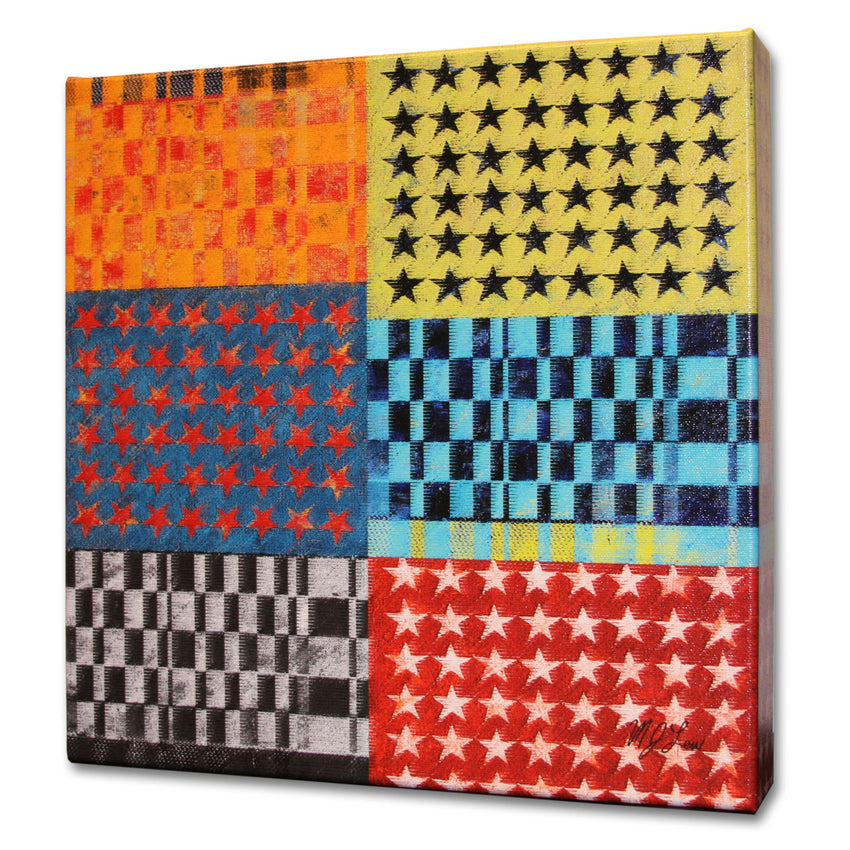 Stars and Stripes Print - Matthew Lew Art Print