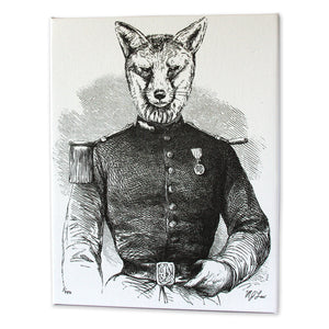 Captain Flynn Fox Print - Matthew Lew Art Print