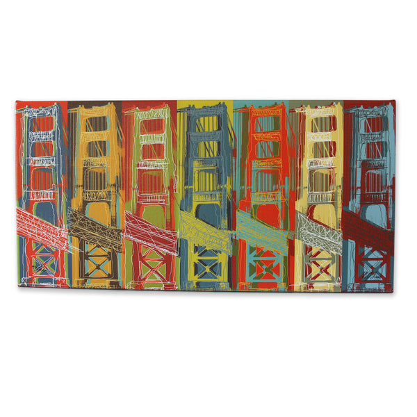 Golden Gate Bridge Print - Matthew Lew Art Print