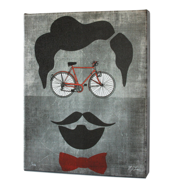Brooklyn Bike Print - Matthew Lew Art Print
