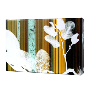 Botanical Stripes II Print - Matthew Lew Art Print
