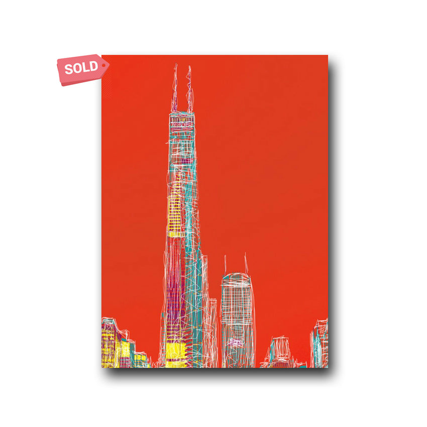 Chicago Views - Matthew Lew Art Print