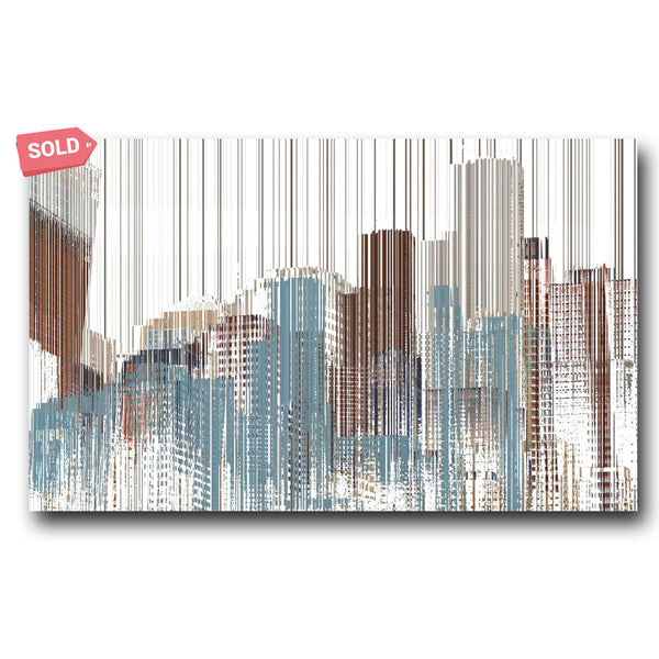 City Snow - Matthew Lew Art Print